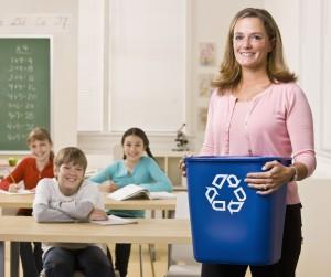 portage recycle at school